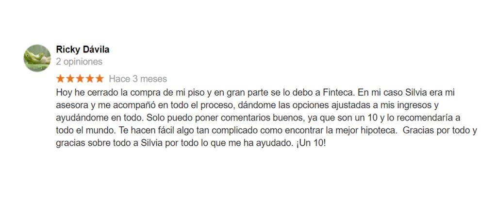 Opiniones Finteca