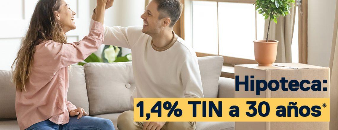1,4% TIN a 30 años