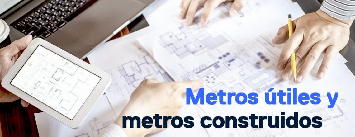Diferencia entre metros construidos metros útiles