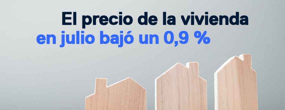 precio de la vivienda en julio