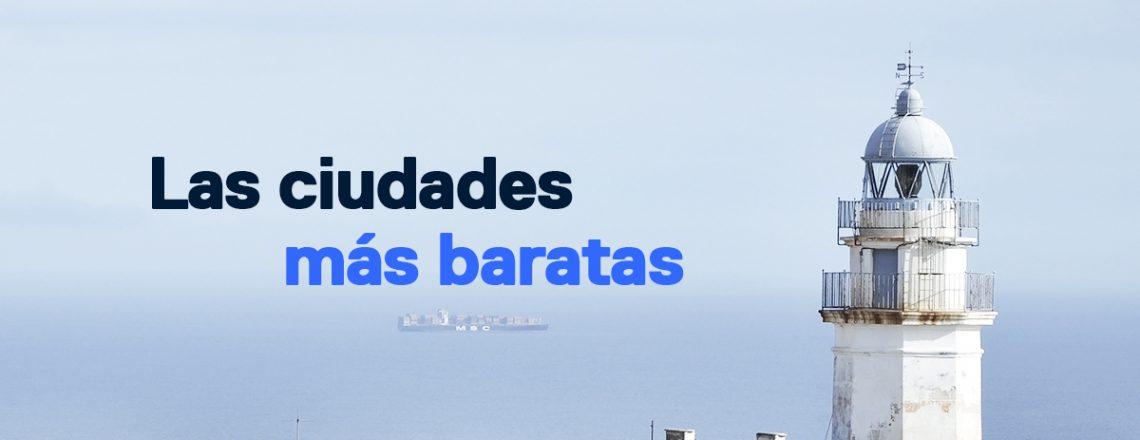 Ciudades más baratas España comprar casa