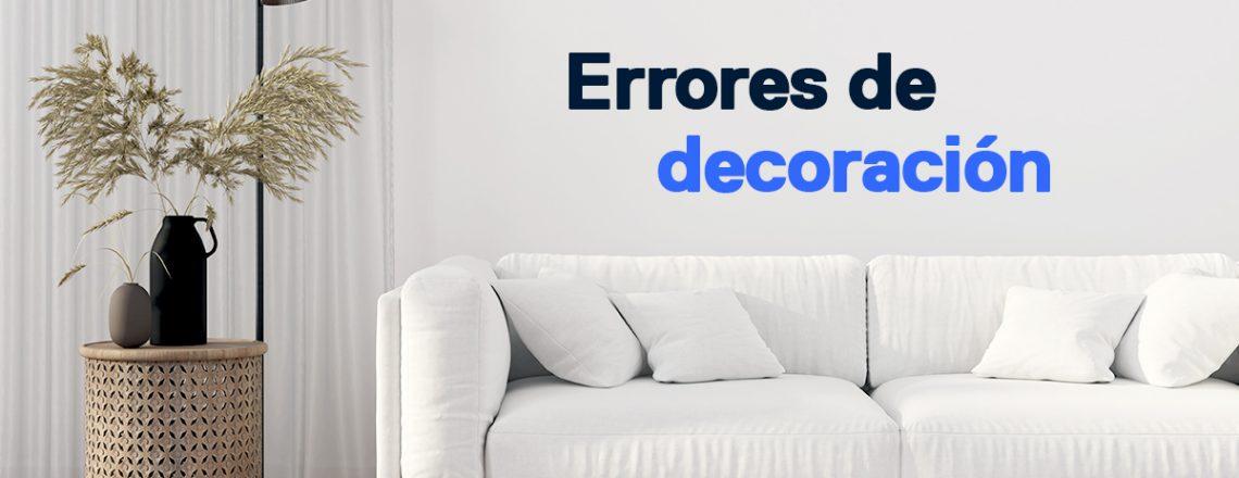 errores decoracion evitar