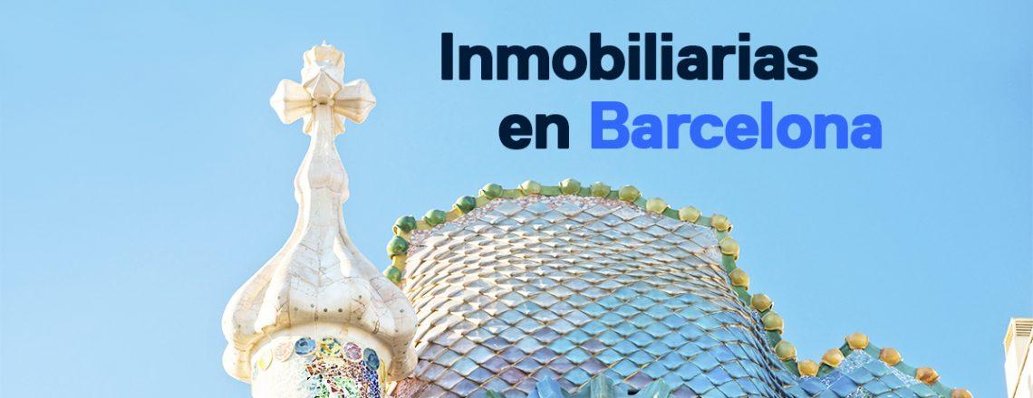 inmobiliarias barcelona