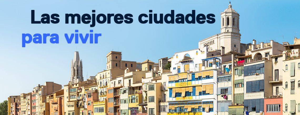 mejores ciudades España vivir comprar casa